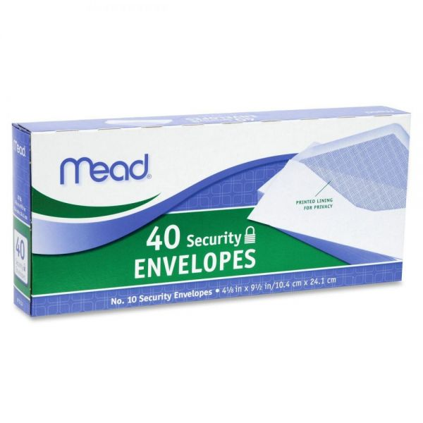 Image For Security Envelopes #10