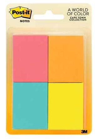 Image For POST IT 1.5X2 4 CT