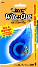 Image For Correction Tape Wite-Out