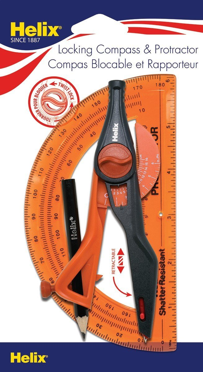 Image For Compass & Protractor Set