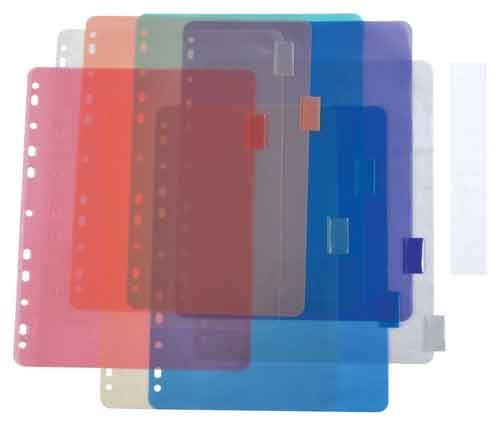 Image For INDEX DIVIDER 8 TAB POLY