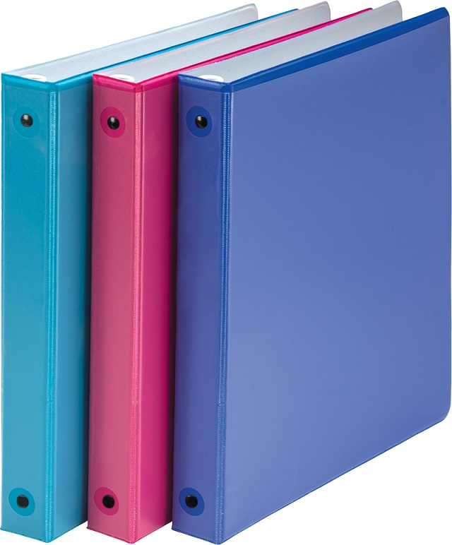 Image For Round Ring Two-Tone View Binder