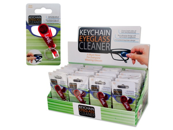 Image For Keychain Eyeglass Cleaner