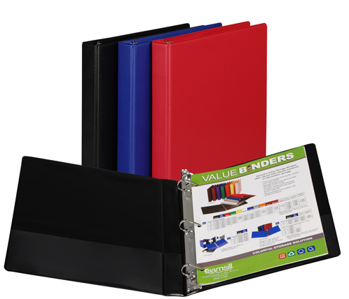 Image For D-Ring Binder Basic Colors