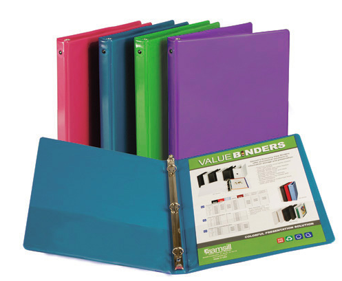 Image For View Binder Fashion Colors