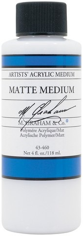 Cover Image For ACRYLIC MATTE MEDIUM 4OZ