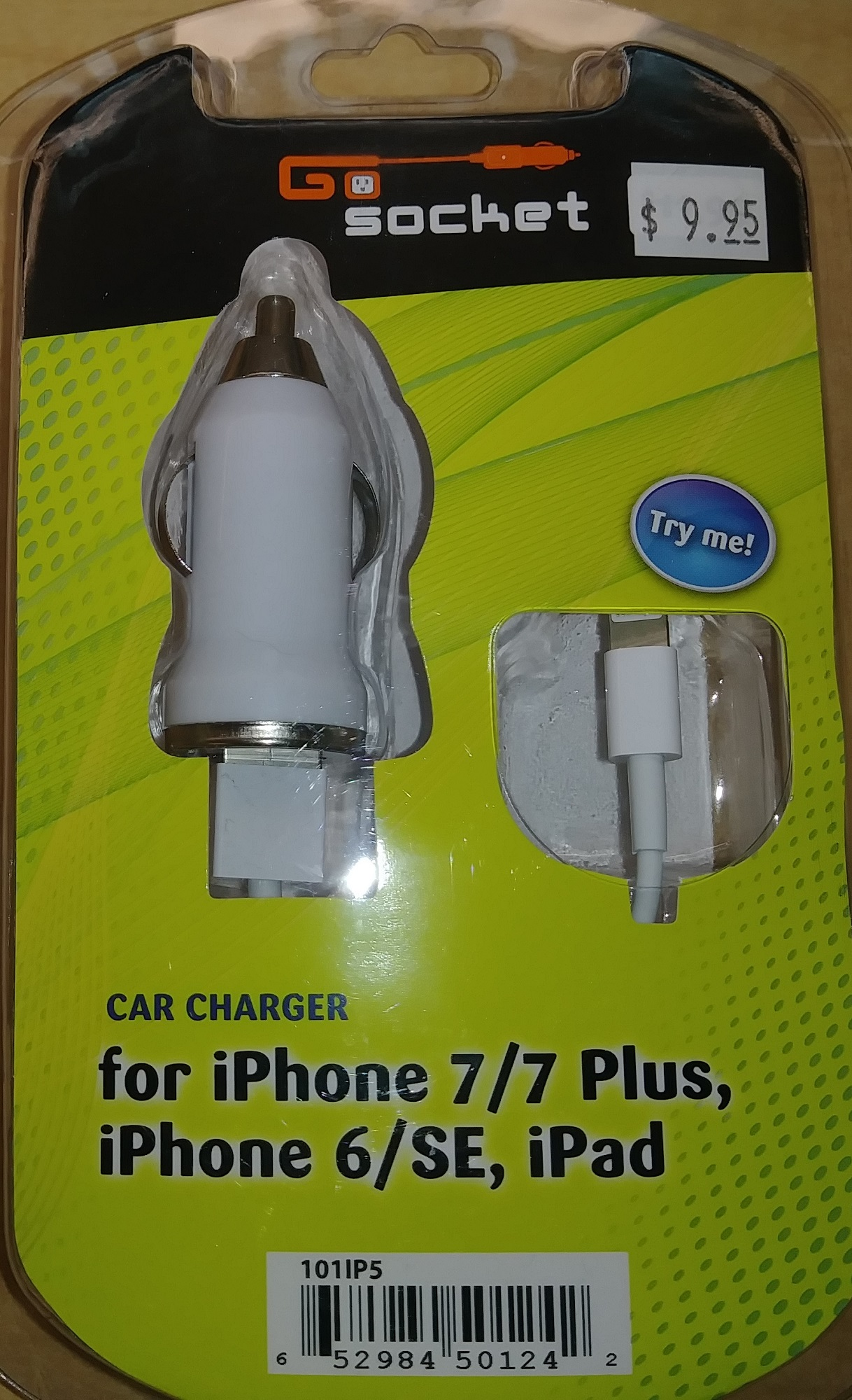 Image For PEM IPHONE 5 AUTO CHARGER